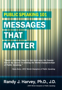 PUBLIC SPEAKING 101: MESSAGES THAT MATTER