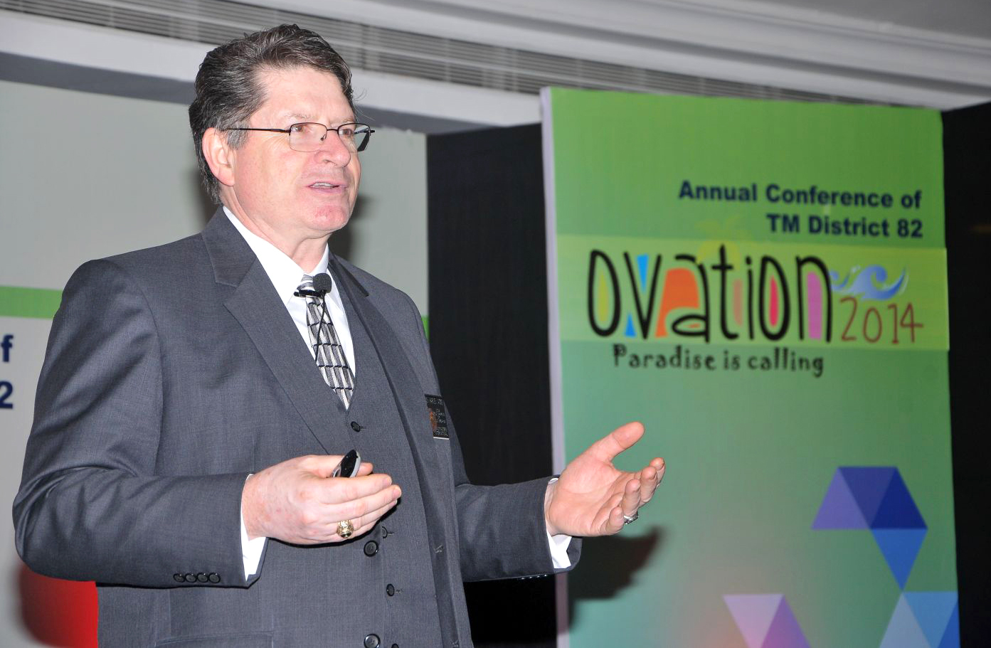 Randy J Harvey at Ovation 2014